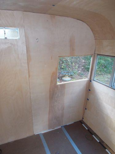 affordable DIY vintage camper renovation