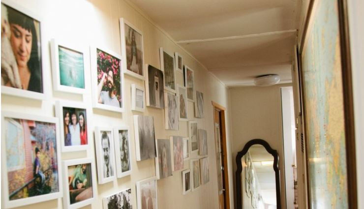 redecorate your manufactured home - gallery walls