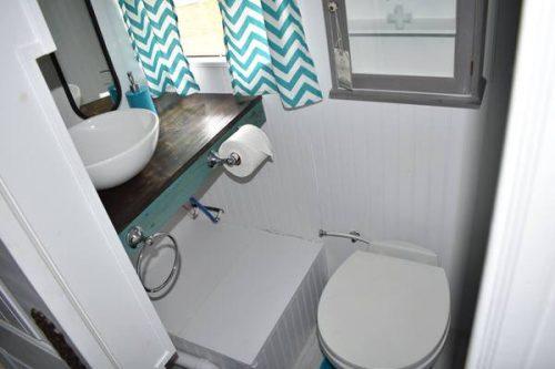 remodeled bus-bathroom