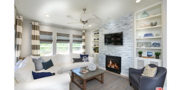 mobile home remodeling ideas -create focal points on the floor