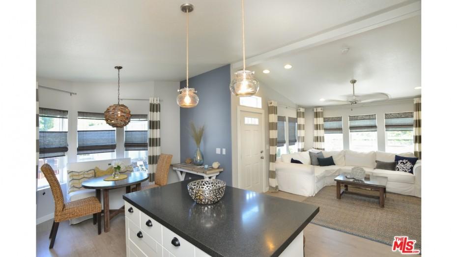 mobile home decorating ideas - open floor plans
