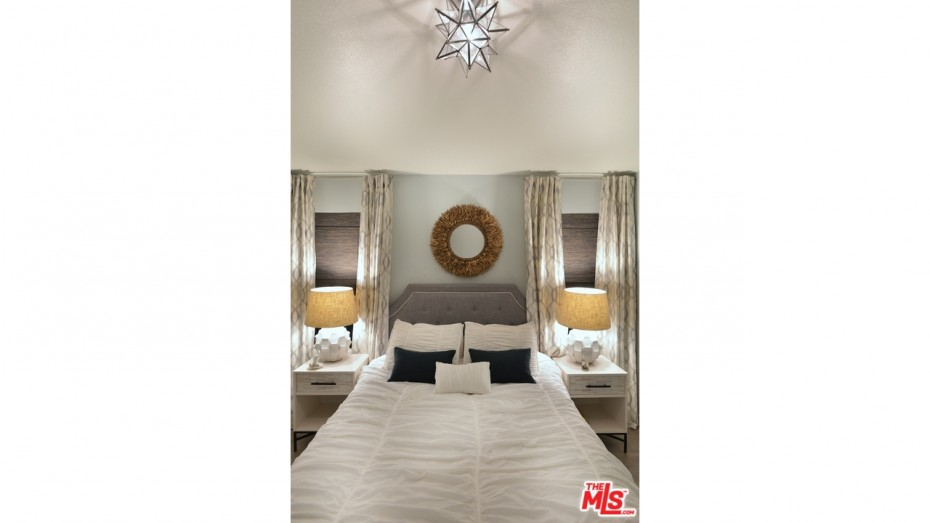 remodeled manufactured home ideas - master bedroom lighting