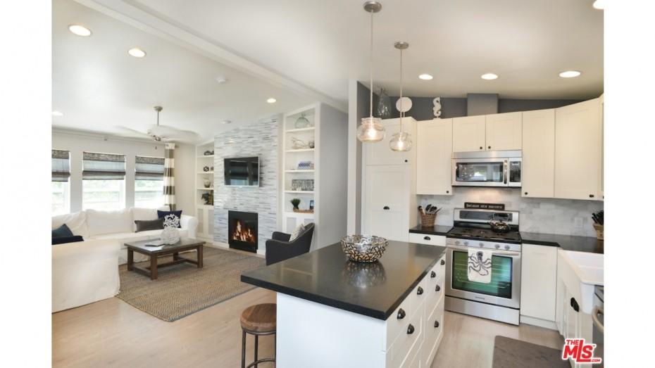 remodeled manufactured home ideas open kitchen floorplan