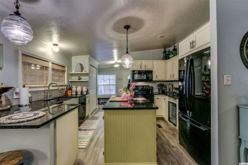 Renovated double wide-kitchen