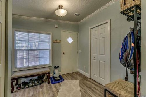 Renovated double wide-mud room