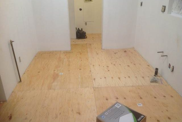 replacing subflooring in a mobile home