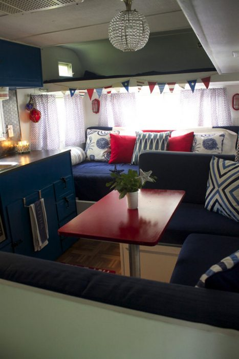 3 Cute Camper Decorating Ideas -interior after