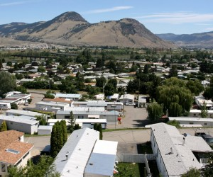 Canadian town - Kamloops