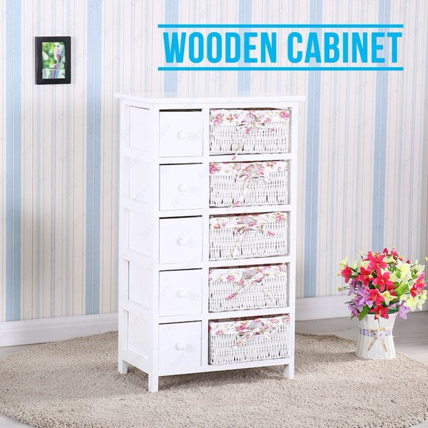 shabby chic decor-cabinet
