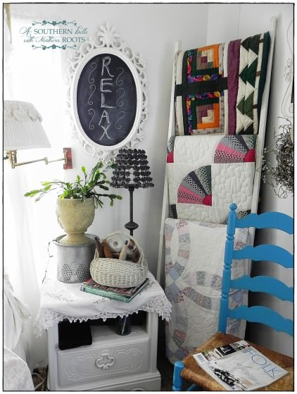 shabby chic decor-double wide