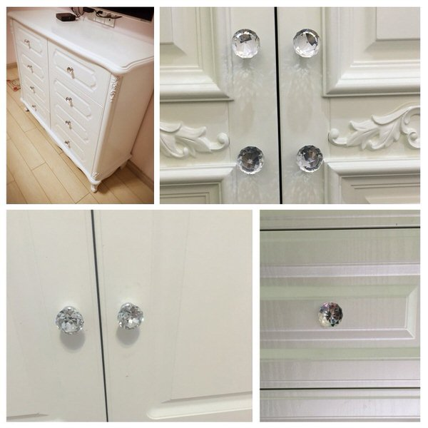 shabby chic decor-knobs