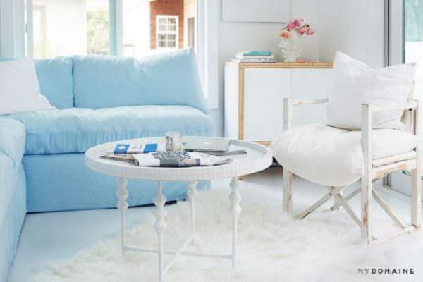 shabby chic decor-rachel-living-room