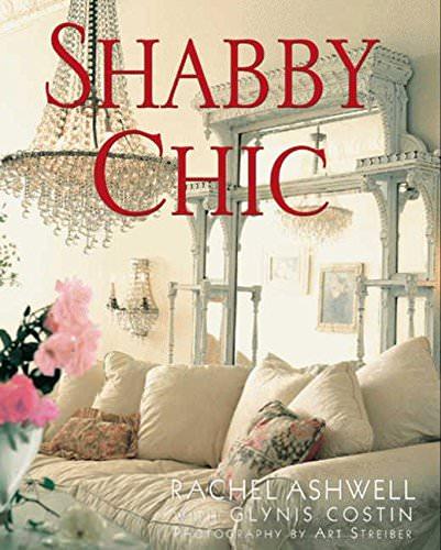 Shabby chic decor-rachels book