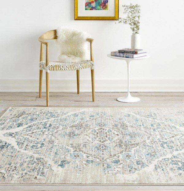 shabby chic decor-rug