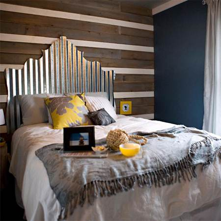 sheet metal home decor-sheet metal headboard