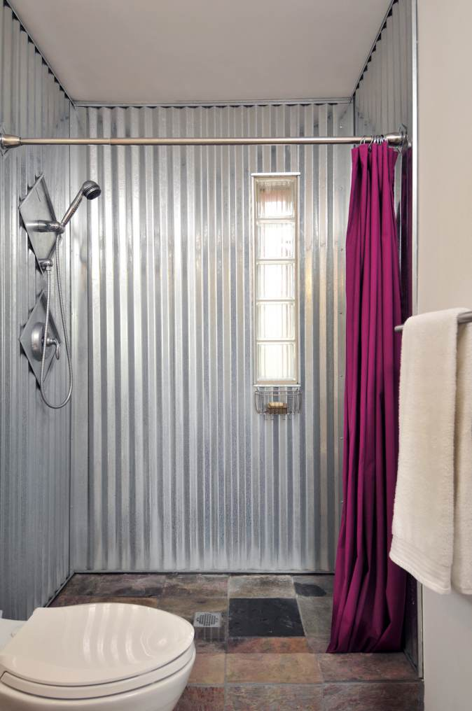 sheet metal home decor-sheet metal shower