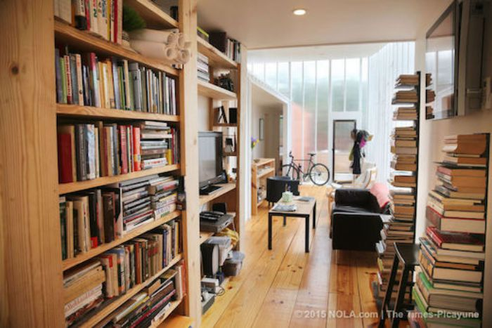 Compare a Shipping Container Home to a Manufactured Home - interior of a shipping container home