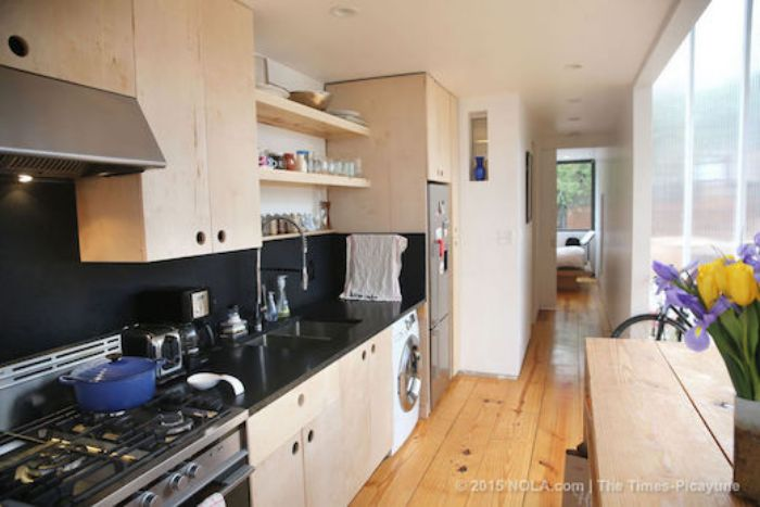 Compare a Shipping Container Home to a Manufactured Home - Kitchen Design