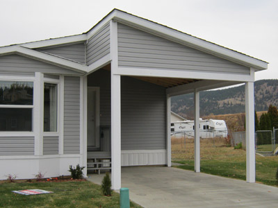 Mobile home additions guide footers roofing and for Carport additions