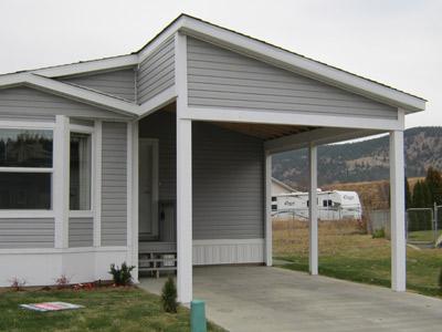 single wide park model - building mobile home addition