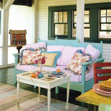 single wide porch decor