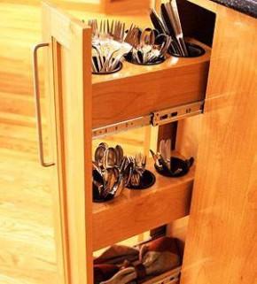 slide out kitchen storage