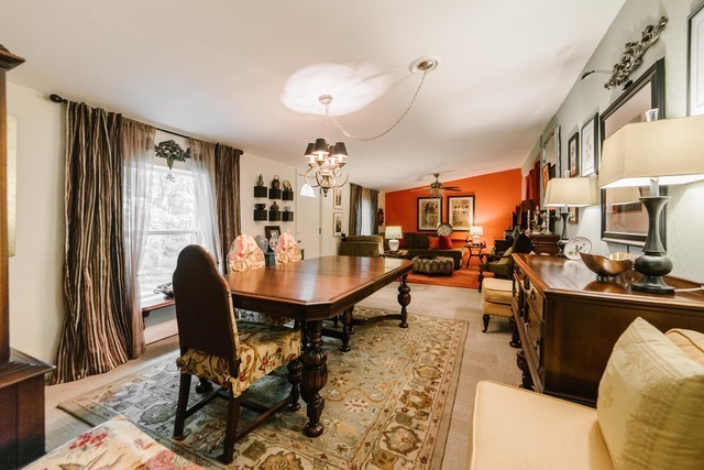 double wide manufactured home remodel - formal dining room