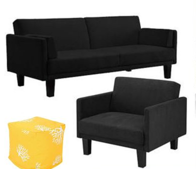 sofa and chair for living room makeover