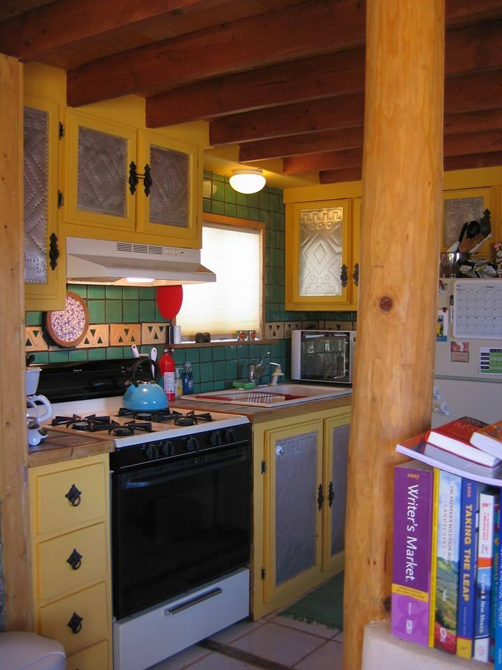mobile home decor-southwest mobile home kitchen