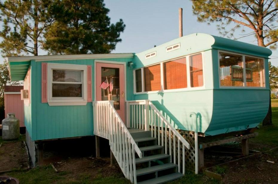 mobile home exterior makeover