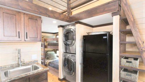 tiny home designs-the alexander bunk beds