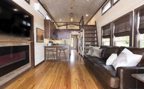 tiny home designs-the alexander interior