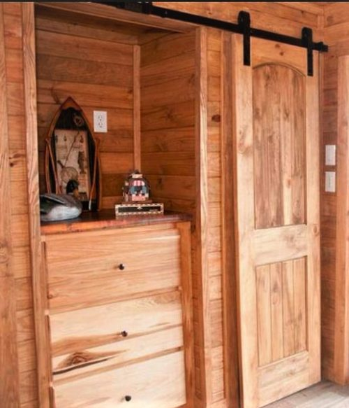 tiny home designs-the jt barn door