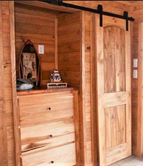 tiny home designs-the jt barn door