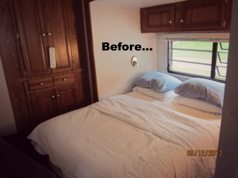 Mobile home decorating beach style makeover for Rv with 2 master bedrooms