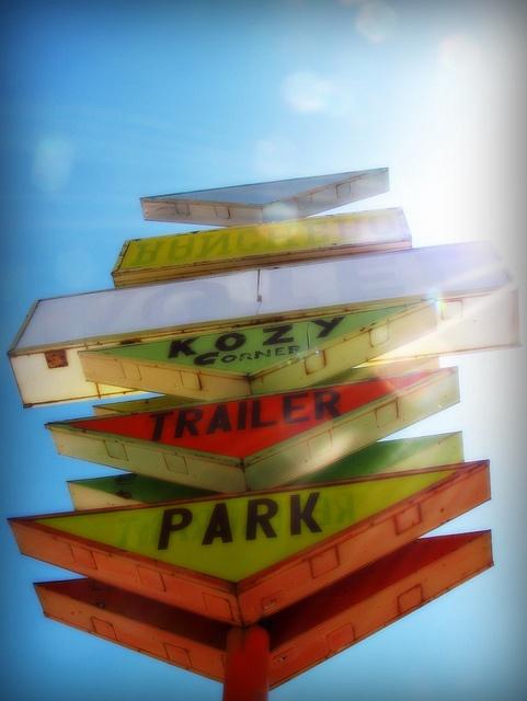Trailer parks-trailer park signs 2