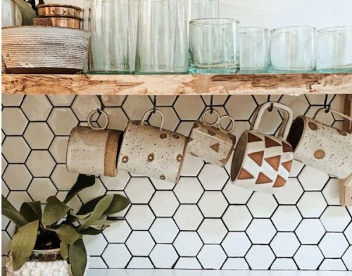 transforming a vintage airstream-backsplash