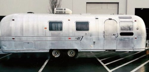 transforming a vintage airstream-exterior before