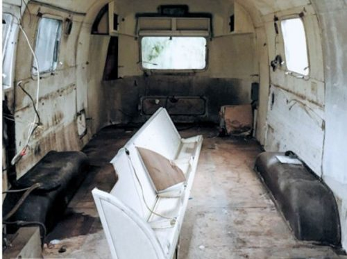 transforming a vintage airstream-interior before