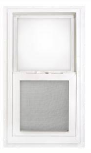typical vinyl window