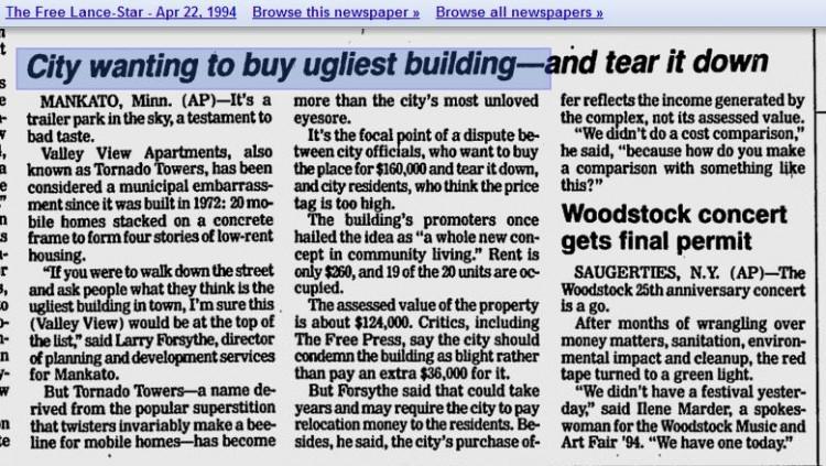 Ugliest building article