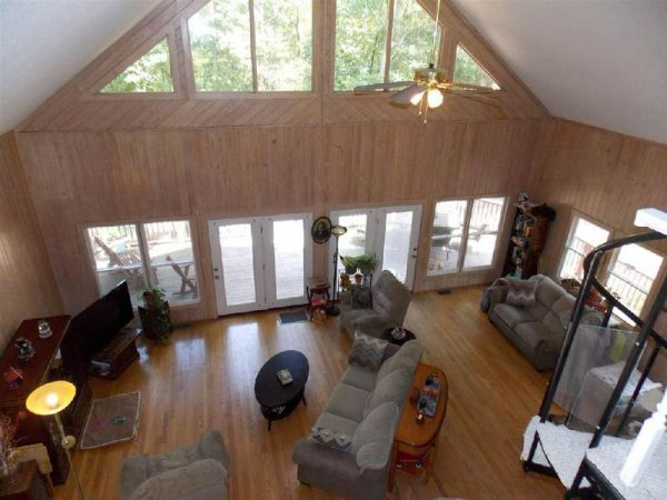 unique mobile home addition-view from above