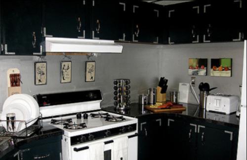 Fresh unique mobile home decor classic black kitchen