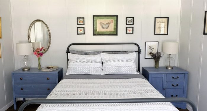 update a new manufactured home - master bedroom