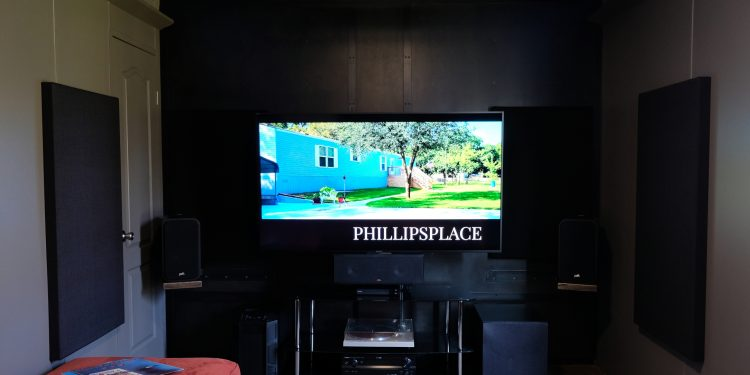update a new manufactured home - media room