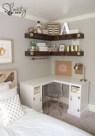 update your mobile home bedroom-create more storage
