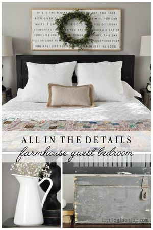 update your mobile home bedroom-rustic farmhouse