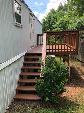 updated single wide-porch