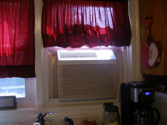 air conditioner cover-air conditioner and curtain