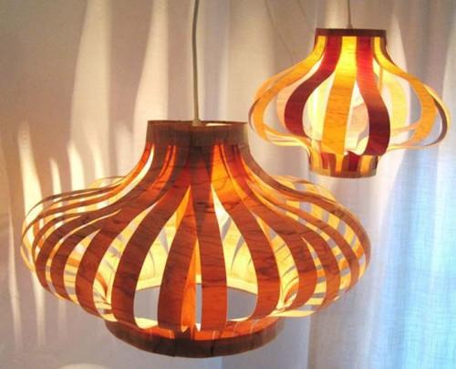 veneer pendant lighting